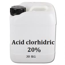 Acid clorhidric 20%