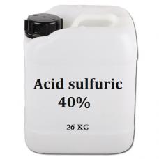 Acid sulfuric 40%