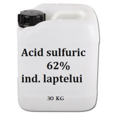 Acid sulfuric 62% ind lactatelor