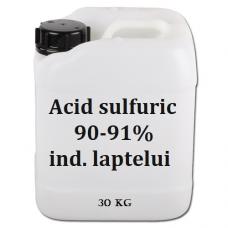 Acid sulfuric 90-91% ind lactatelor