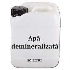 Apa demineralizata