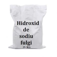 Hidroxid de sodiu fulgi