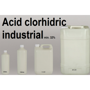 Acid clorhidric 32% tehnic industrial