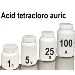 Acid tetracloro auric
