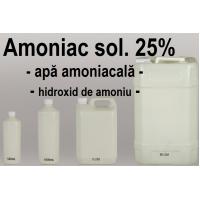 Amoniac solutie 25 %