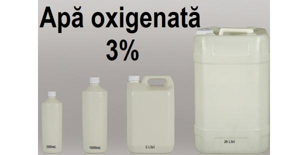 Apa oxigenata 3%