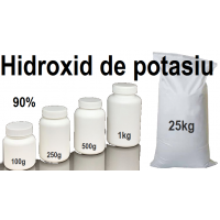 Hidroxid de potasiu 90%