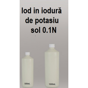 Iod in iodura potasiu 0,1N