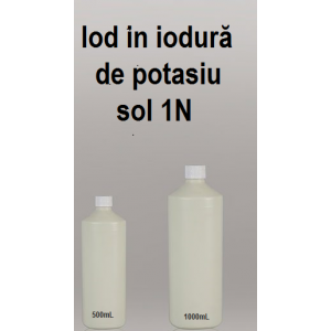 Iod in iodura potasiu 1N