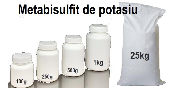 Metabisulfit de potasiu
