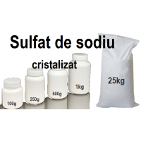 Sulfat de sodiu decahidrat