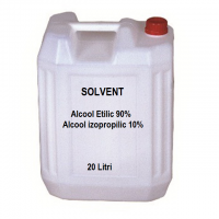 Alcool etilic si alcool izopropilic solvent mixt